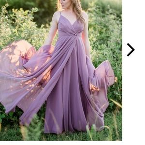 All About Love Dusty Purple Maxi Dress
